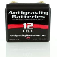 Small Case 12-Cell 360 Cranking Amp Lithium Motorsports Battery